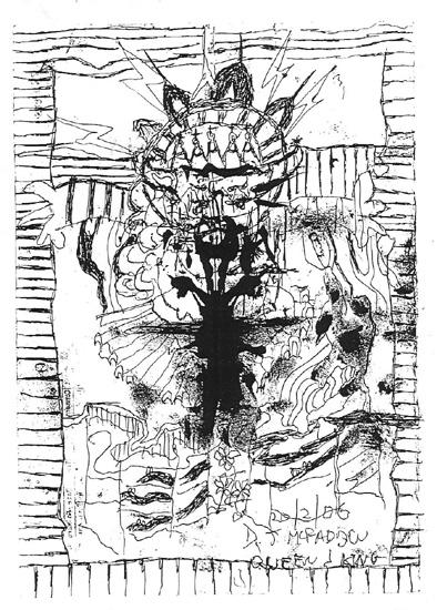 Beggar's drawing