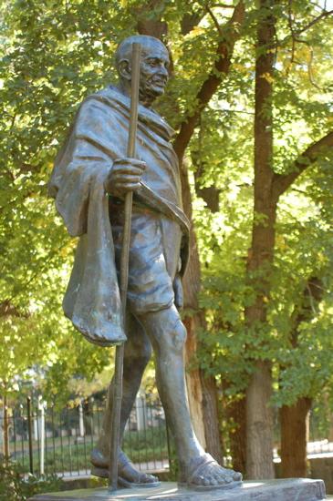 Mohandas Karamchand Ghandi - by Ram V. Sutar
