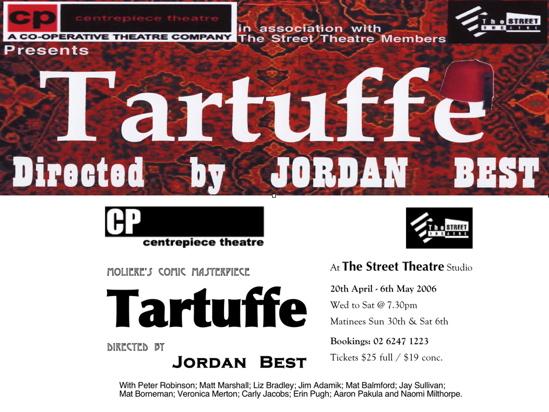 Tartuffe by Moliere in Canberra 06