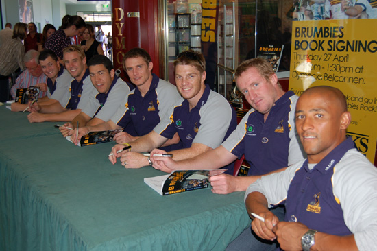 Brumbies players