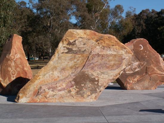 Wilcania reconciliation stones
